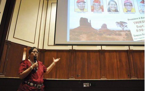 Navajo Oral History Project students present documentaries