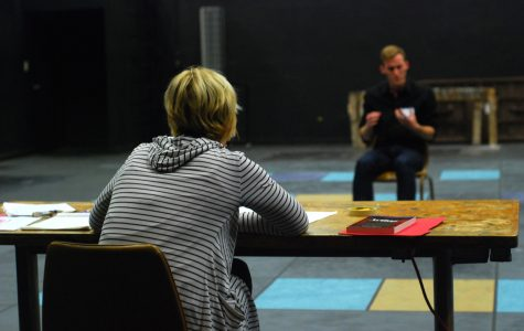 Director Heather Williams took notes as hopeful actors recited their monologues.
