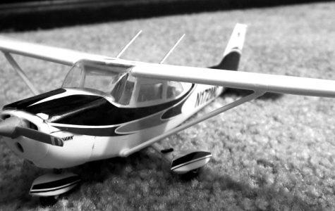 Model airplane made during break. Marcie Ratliff/Winonan