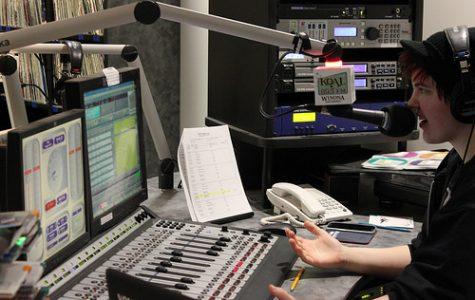 KQAL DJ Ann Kliszcz starts her Friday morning by hosting the show Wake Up Winona. MELISSA VAN GRINSVEN