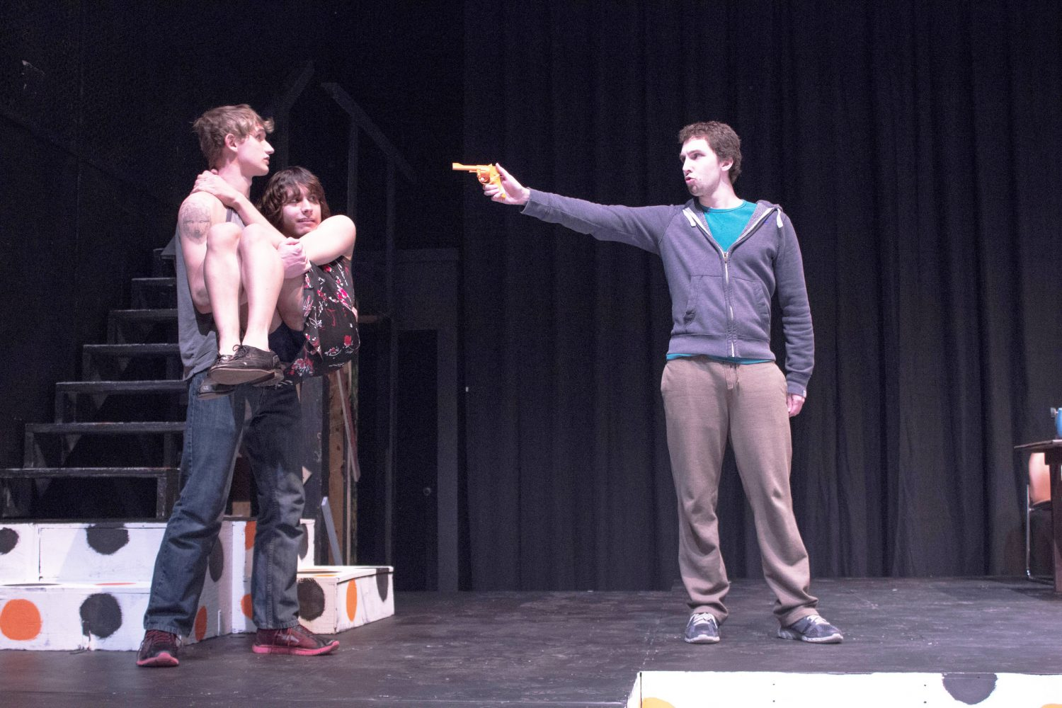 Winona State hosts 24 hour theater in the PAC blackbox. Photo: Taylor Nyman