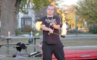 Object manipulation club: A profile of students playing with fire