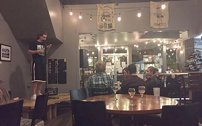 Black Sheep poetry group slams out stanzas on Wednesday nights