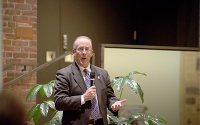 Dempsey assumes role as university's vice president