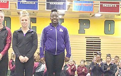 Profile: Gymnastics champion Eboni Jackson