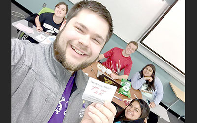 Happiness club promotes positivity on campus