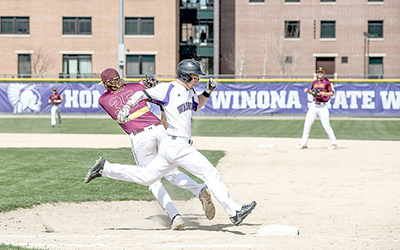 Sunday losses lead to Monday victories for baseball
