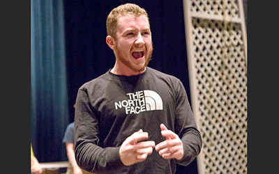 Derek Wagner: Profile of an actor returning to stage