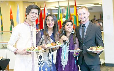 International dinner brings cultures together