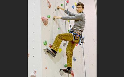 Avery Prondzinski: Profile of an avid rock climber