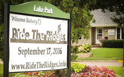 Winona organization hosts biking event fundraiser
