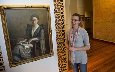 Heirloom paintings showcase Winona History