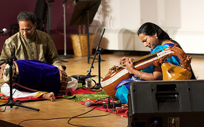 Musicians bring Southern Indian tunes to campus