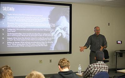 Professors create film studies major