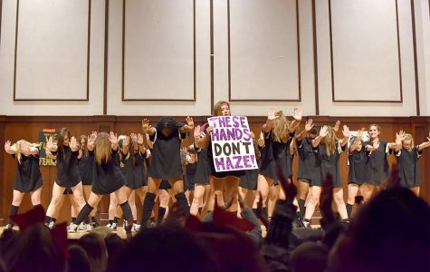 Greek Life takes stand against hazing