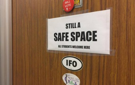 """Safe Space"" stickers stolen from campus offices"