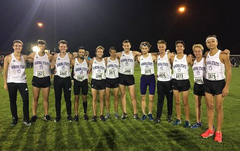 Men's cross country finishes in top half