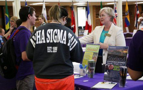 Study abroad fair held in Kryzsko Commons