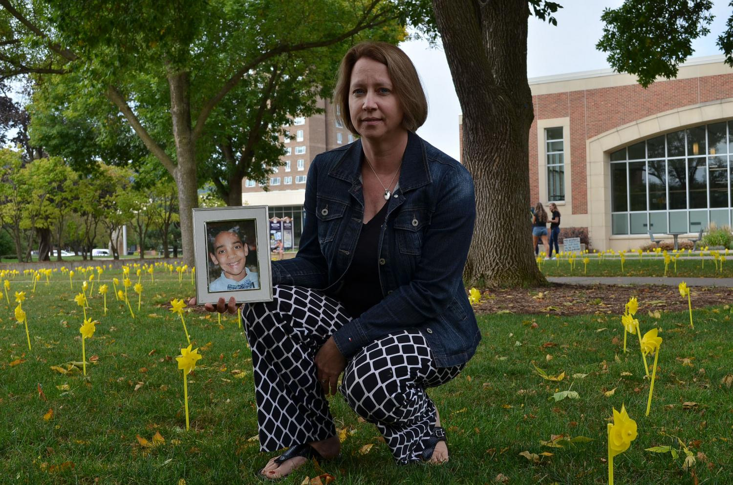 Winona State librarian Carol Daul-Elhindi and her husband founded Solomon's Song in her youngest son's honor after he took his life in 2016. Solomon's Song works to promote a healthy mind and body, celebrate diversity and work to stomp out the stigma surrounding mental illness. The foundation holds several awareness events and provides resources for those who need help.
