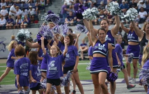 Warrior Youth Cheer Camp takes the field