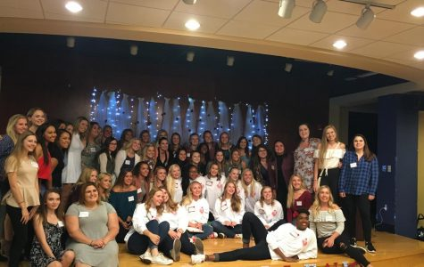 Panhellenic council helps girls find their new 'homes'