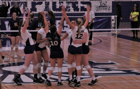 Volleyball wins five games in a row