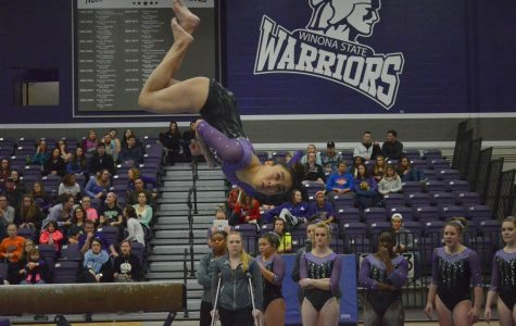 Gymnastics wins second consecutive home meet