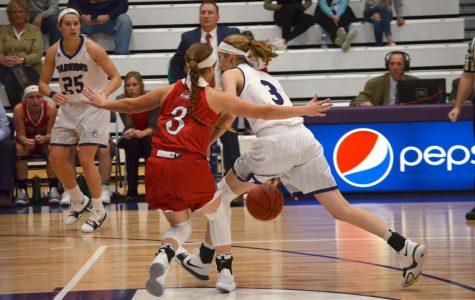Women's basketball faces defeat in North Dakota
