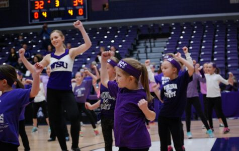 Dance team holds dance workshop for kids