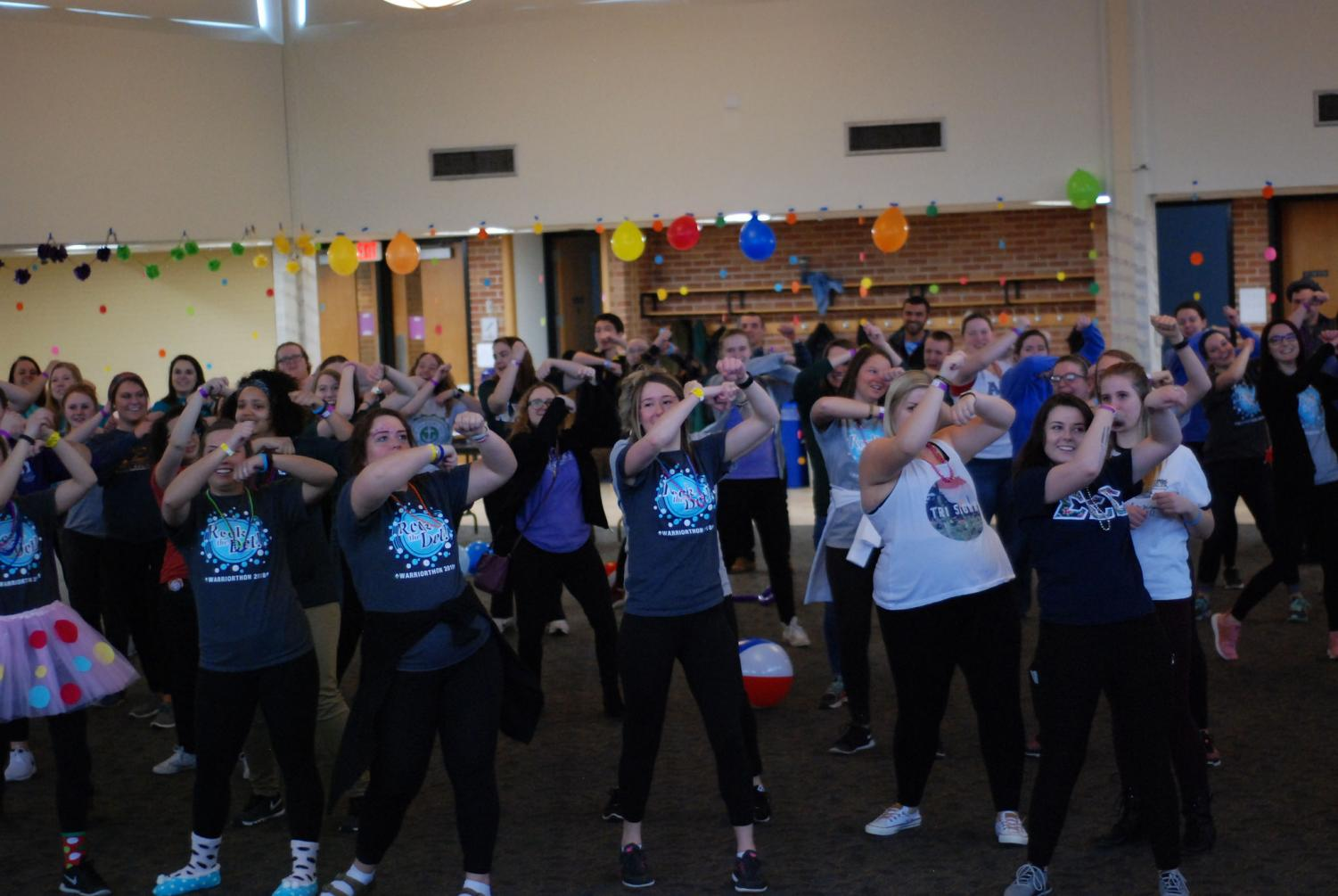 Students and community members filled East Hall on Saturday, Feb. 24, for the