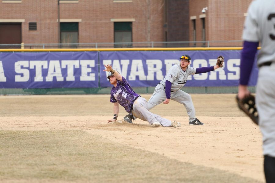 Warrior baseball moves to .500 for season