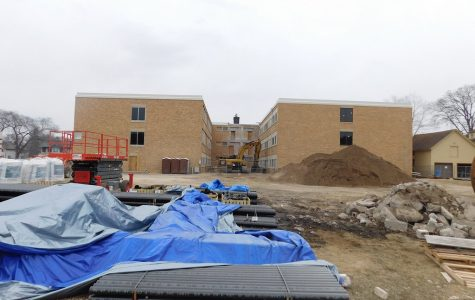 Construction on Education Village continues
