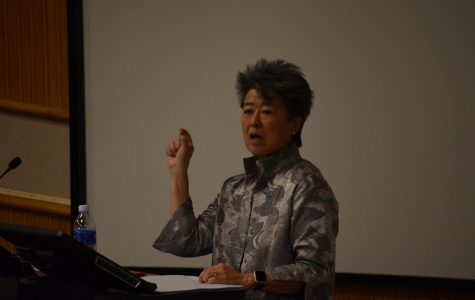 Activist Helen Zia, speaks at Stark Hall