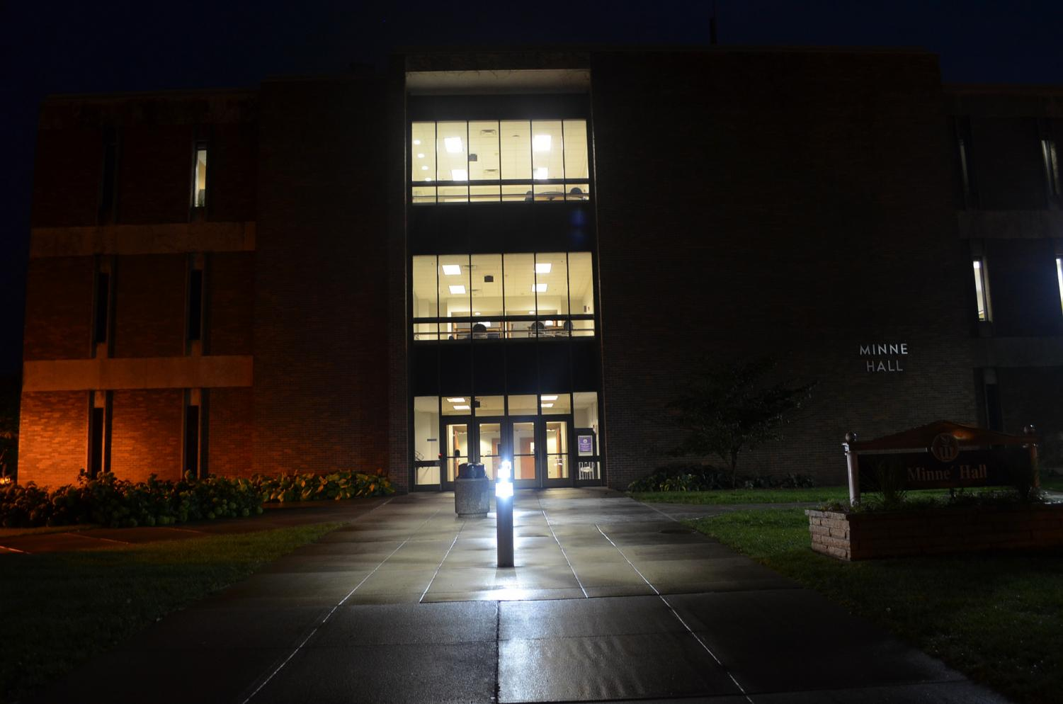 One of the offices in Minne Hall are included in the recent break-ins in the Winona State area. More recent break-ins include Maxwell and Gildemeister Halls, as well as multiple off-campus locations.