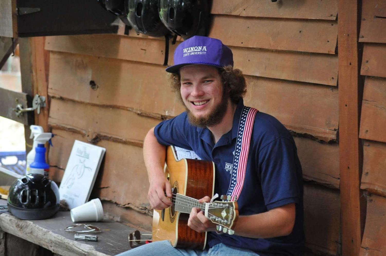 Derek Harms was a student at Winona State from 2015 until his death on April 9, 2018 from a snowboarding accident. His friends and family remember him as a kind, friendly person who always wore a smile.