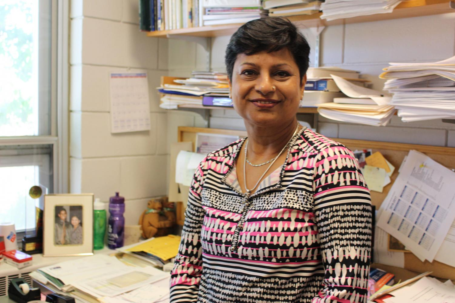 Professor Joyati Debnath is this year's recipient of the Distinguished Faculty and Staff Award. Debnath has been teaching in Winona State University's Mathematics and Statistics department since 1989.