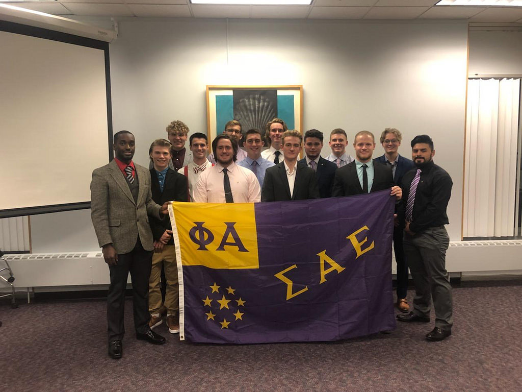 Sigma Alpha Epsilon is the first fraternity to be welcomed to Winona State in six years. After a nine month approval process, the fall of 2018 is the groups first official semester on campus as a recognized fraternity.