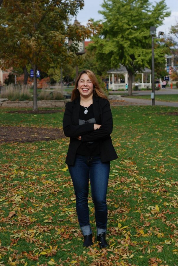 Mariana Vines Marchesi, a graduate of Winona State, was nominated for showing resilience in her employment at the Winona State Writing Center, the English department, the English Language Center and Student Senate.