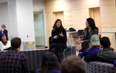 Prominent females speak on campus