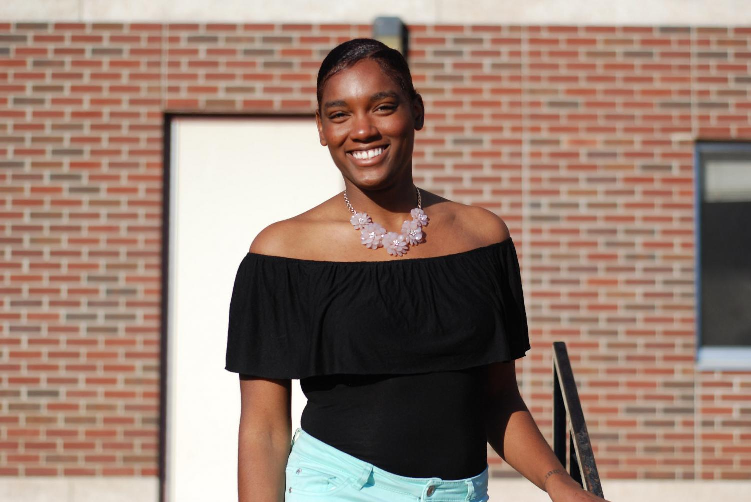 Zaria Smith is a senior who is involved in many aspects of campus life. She is in UPAC, Sigma Sigma Sigma, Panhellenic Council, Student Senate and the RE Initiative. Smith was also elected Homecoming Queen this year after receiving the nomination from Student Senate. Smith encourages everyone to get involved on campus.