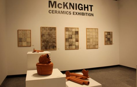 The McKnight Ceramics Exhibition was organized by the Northern Clay Center and is currently taking place in Watkins Hall Jan. 14- Feb. 5. An additional artist talk will take place on Wednesday, Jan. 23 in Watkins Hall.
