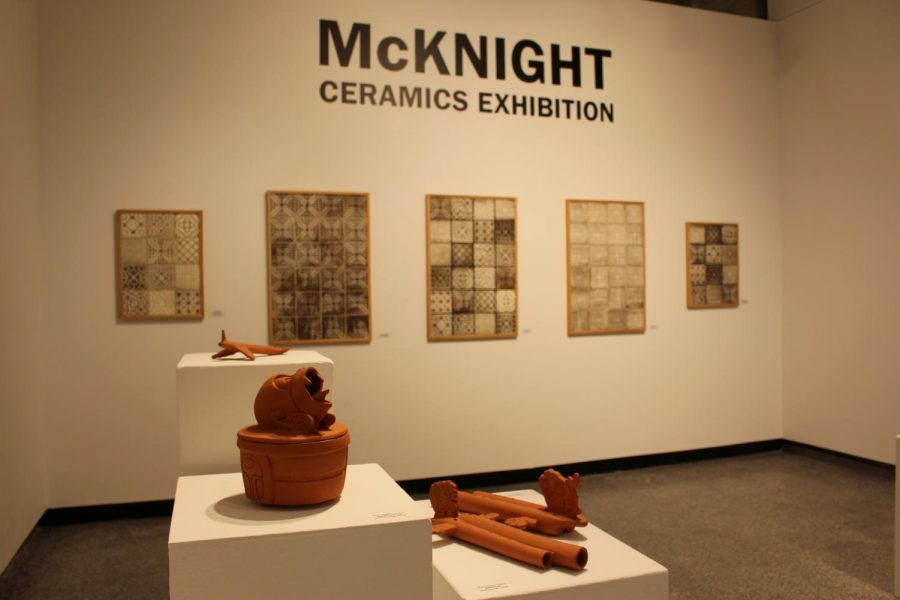 The+McKnight+Ceramics+Exhibition+was+organized+by+the+Northern+Clay+Center+and+is+currently+taking+place+in+Watkins+Hall+Jan.+14-+Feb.+5.+An+additional+artist+talk+will+take+place+on+Wednesday%2C+Jan.+23+in+Watkins+Hall.