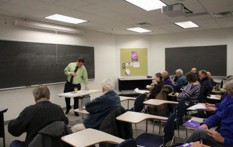 Senior citizens return to school
