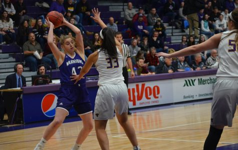 Women's basketball gets rocked at home