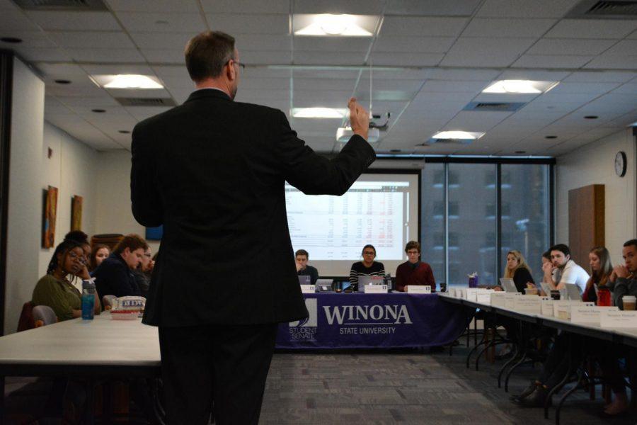 Student Senate speaks security, sports