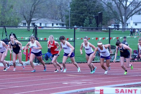 First-year sets records with track and field team