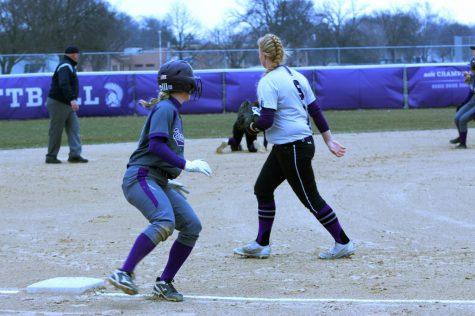 Softball sweeps home openers – The Winonan