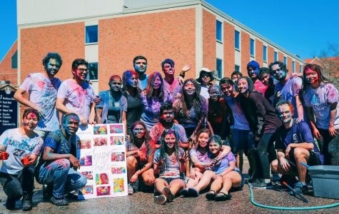"The Winona State Nepali Club hosted the Holi Festival at the gazebo on Friday, April 19. Also known as the ""Festival of Colors,"" the celebration uses colored water and powder to mark the end of winter, the start of spring and new beginnings in Hindu culture."