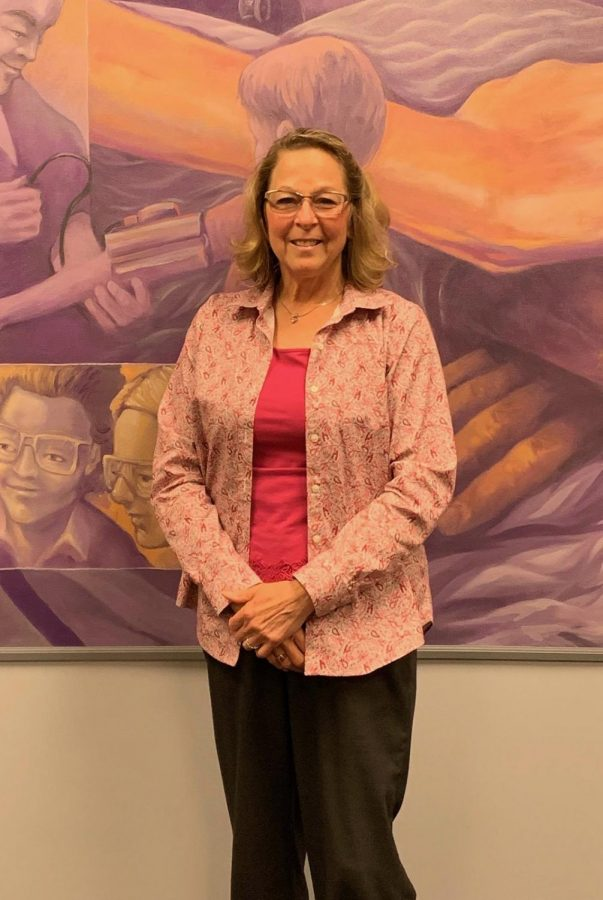 Nursing professor Catherine Nosek was named the 2018-19 Professor of the Year. Nosek was recognized for her dedication to her students, the work she does with travel studies and Med-Life.