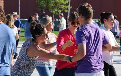 Community gathers around dance and music